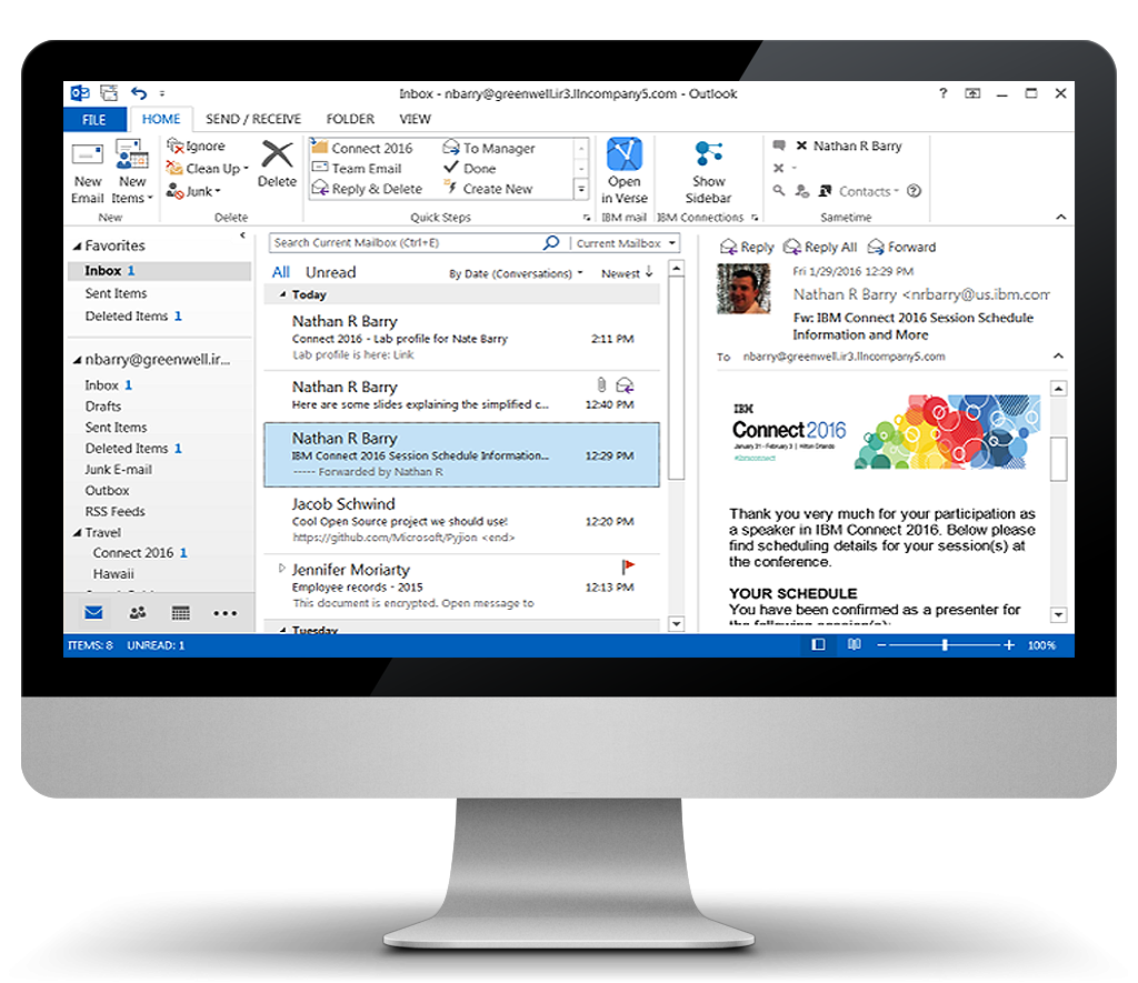 IBM Mail Support for Microsoft Outlook | Kelros